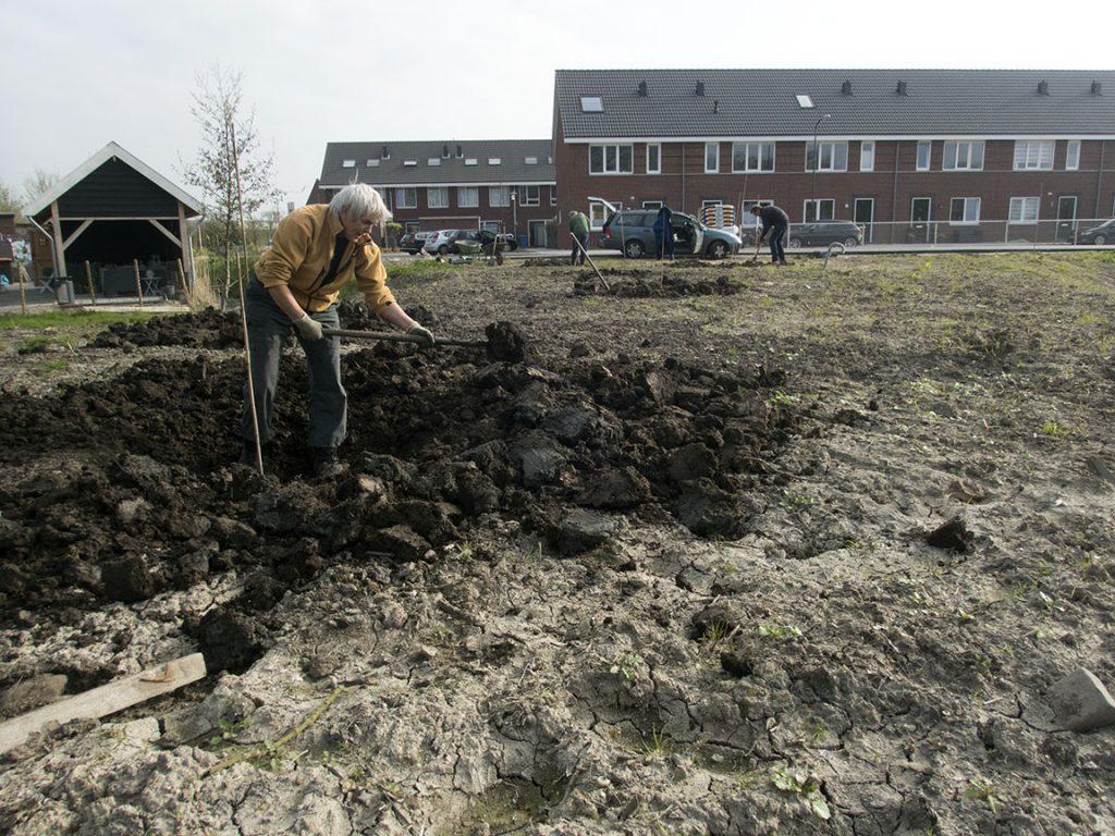 Plantgaten graven